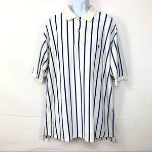 Polo Ralph Lauren Men's Shirt Striped Sz 2XLT Tall